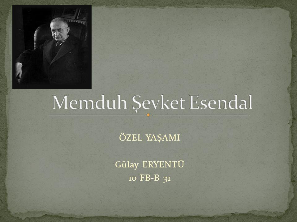 ÖZEL YAŞAMI Gülay ERYENTÜ 10 FB-B 31