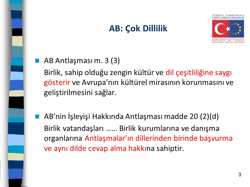 Çeviri Örnekleri ABİA m.49 Within the framework of the provisions set out below, restrictions on the freedom of establishment of nationals of a Member State in the territory of another Member State shall be prohibited.