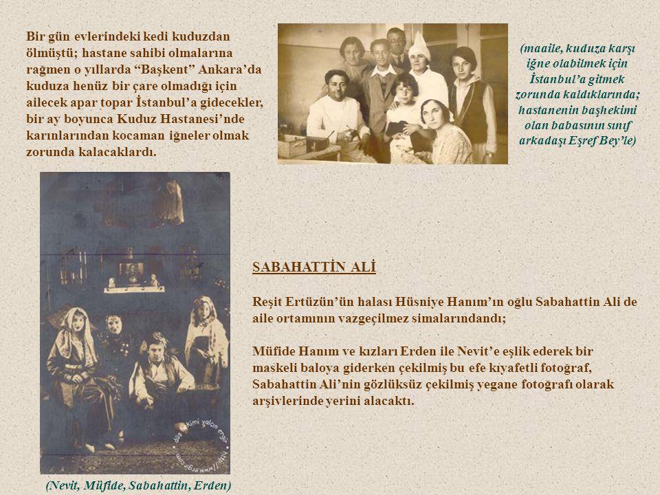 (Zafer Meydanı – Ordu Evi'ne Bakış) Gazi Paşa, Ankara Sıhhat Yurdu'na iki defa hasta ziyaretine gelmişti. Maarif Vekili Necati Bey o zamanlar tedavisi