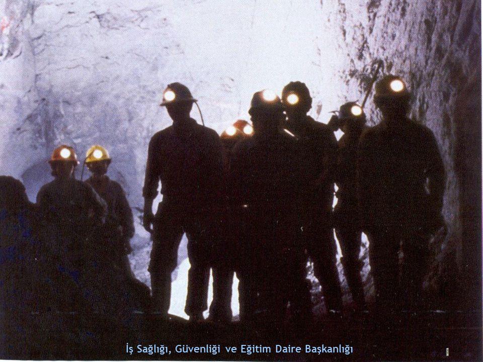 KURTARMA Yeraltında meydana gelebilecek degaj, su baskını, patlama, yangın benzeri nitelikteki olaylarda insan ve malzemeyi kurtarmak için yapılacak işe kurtarma (tahlisiye) bu işi yapacak kurtarıcılara da (tahlisiyeci) denilmektedir Kurtarma hizmetleri maden işletmeleri için vazgeçilmez konulardan biridir İş Sağlığı, Güvenliği ve Eğitim Daire Başkanlığı