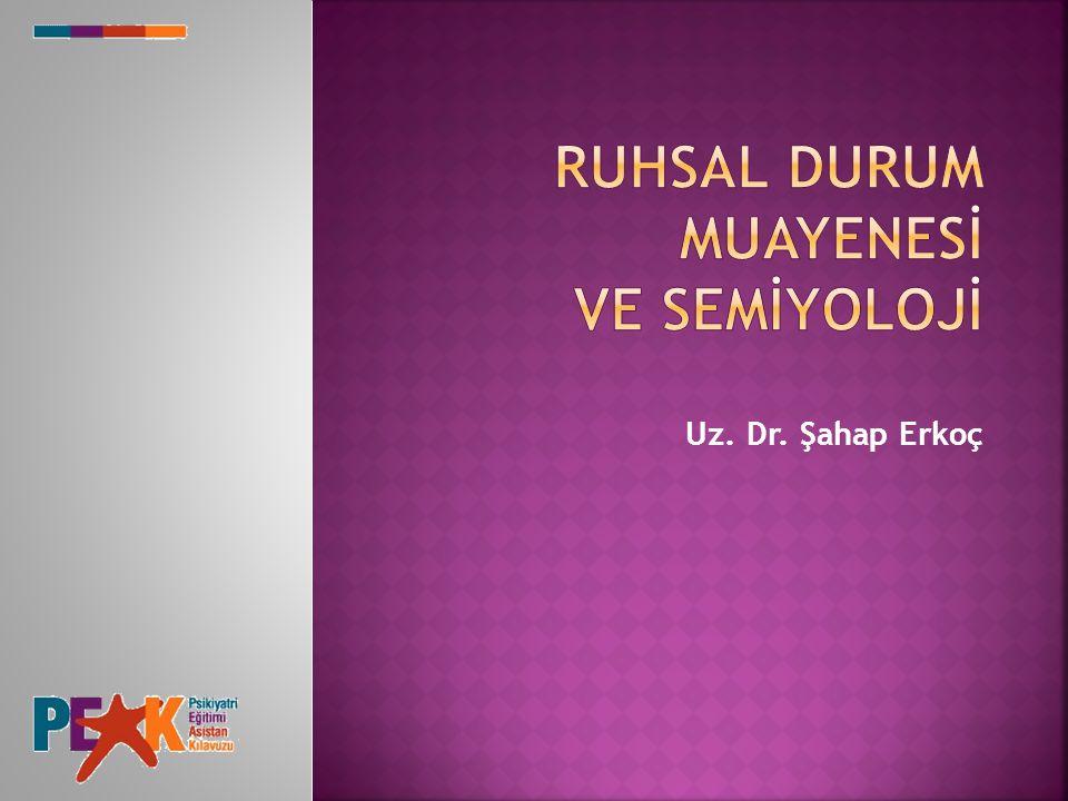 Uz. Dr. Şahap Erkoç