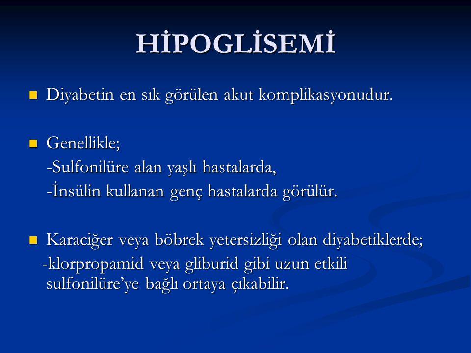 Hiperozmolar non-ketotik koma (HONK) Hiperglisemi ve hiperozmolarite DKA'daki aynı mekanizmalarla oluşur.