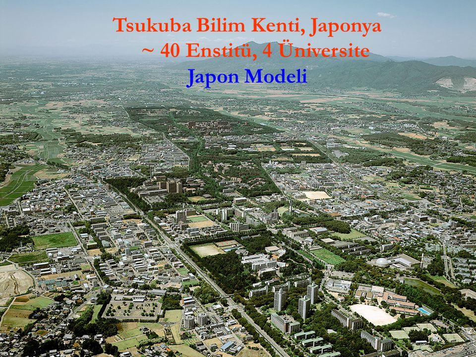 20Ö. Yavaş, UPHDYO-VII, Bodrum Tsukuba Bilim Kenti, Japonya ~ 40 Enstitü, 4 Üniversite Japon Modeli