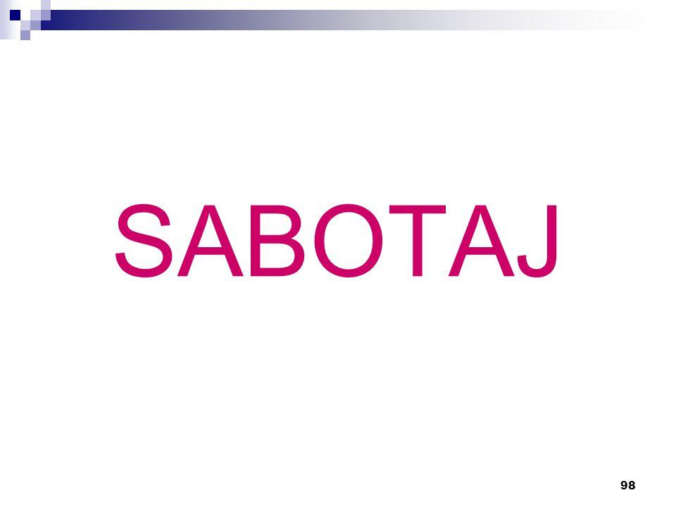 98 SABOTAJ