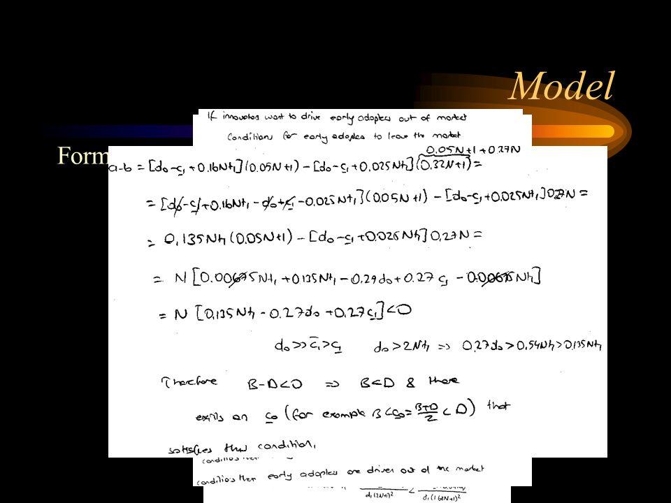 Model Formül Türetme: