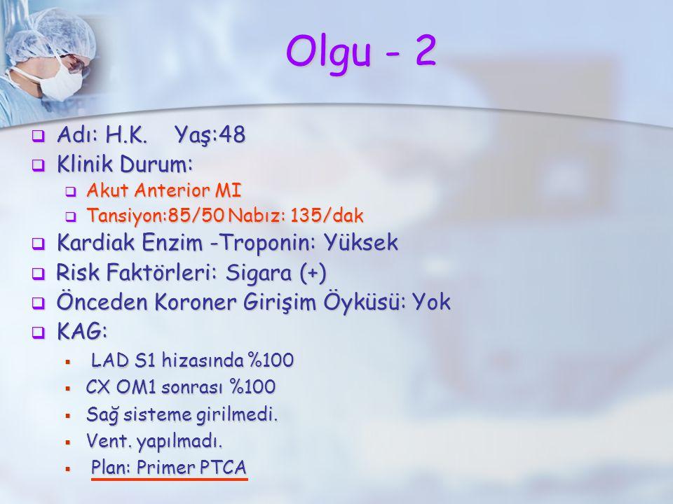 Olgu - 2  Adı: H.K.