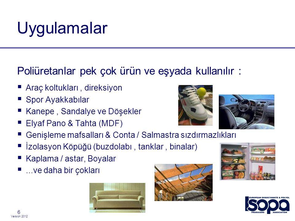 Version 2012 Yüksekte çalışmak için kullanılan emniyet kemer sistemi Fall protection (1) 27