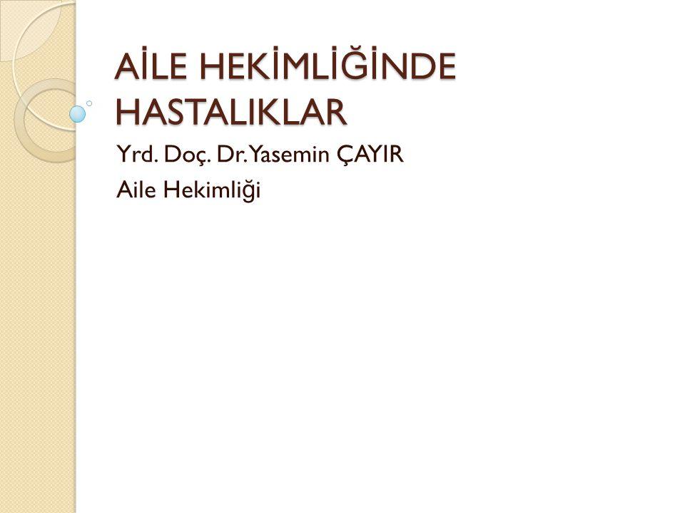Türkiye'de Ölüm Nedenleri 22 Türkiye Ulusal Düzeyde Ölüm Sayılarının Temel Hastalık Grupları ve Cinsiyete Göre Da ğ ılımı (UHY-ME Çalışması, 2000,Türkiye)