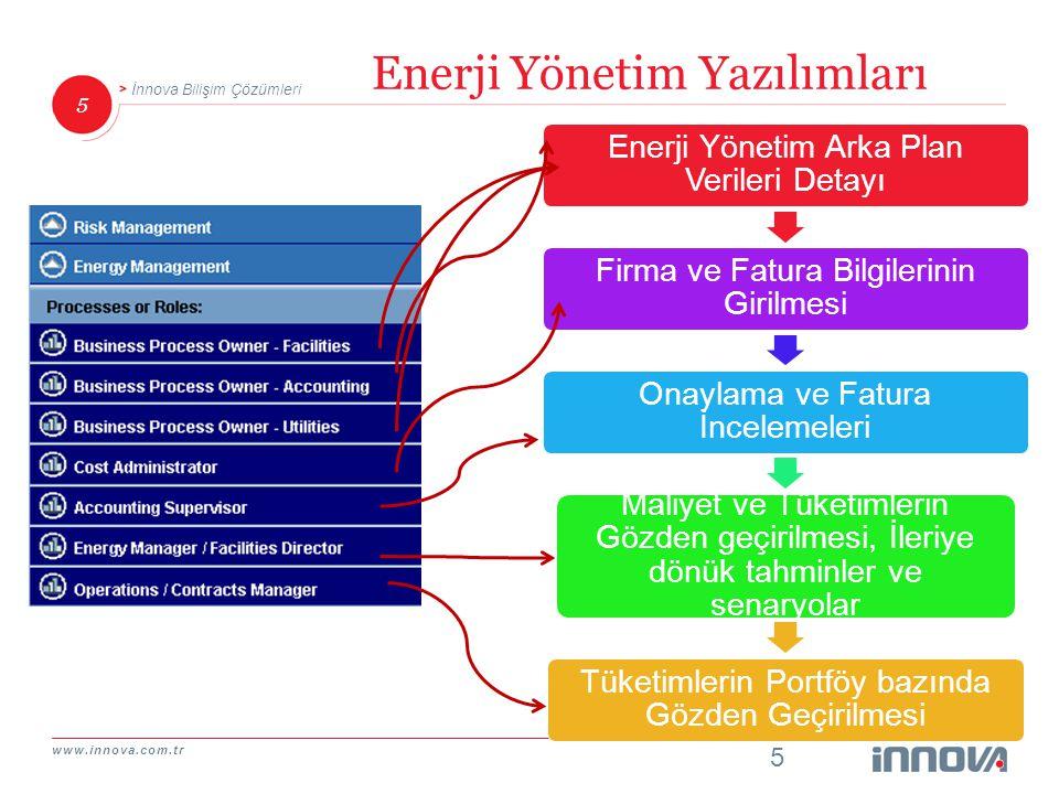 www.innova.com.tr 6 İnnova Bilişim Çözümleri Neden Gerekli.
