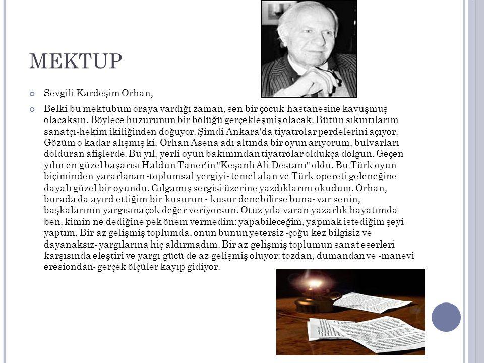 ELEŞTİRİ 12 Eylül den sonra, Atatürk ün bizzat kendi parasıyla kurdurduğu Türk Dil Kurumu kapatıldı.