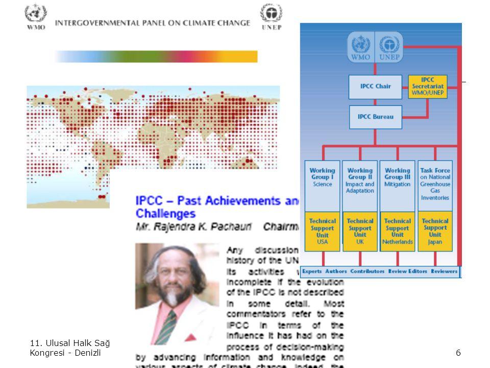 11. Ulusal Halk Sağlığı Kongresi - Denizli25 Ekim 20076