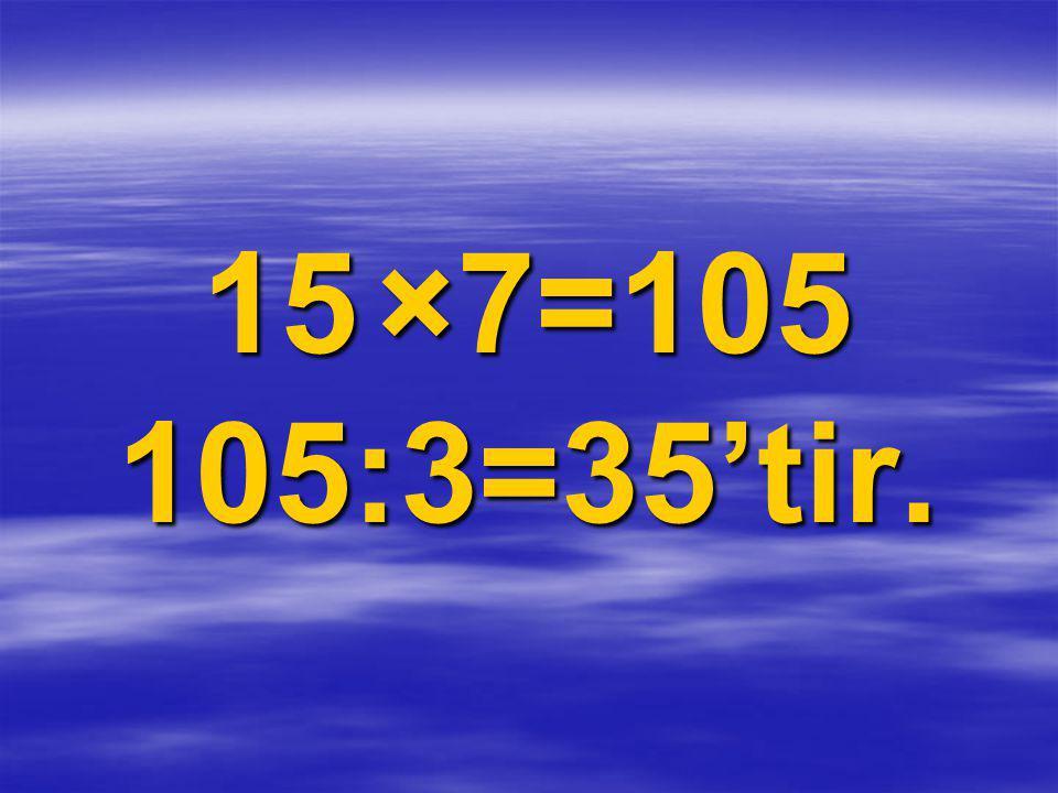 Bir bölme işleminde bölünen ile bölenin farkı 71, bölüm 11,kalan 1 ise bölünen sayı kaçtır?