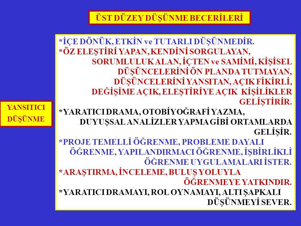 ÖĞRETİM İLKE ve YÖNTEMLERİ ÖĞRETME-ÖĞRENME YAKLAŞIMLARI ÇOKLU ZEKA MODELİ (GARDNER) 4.