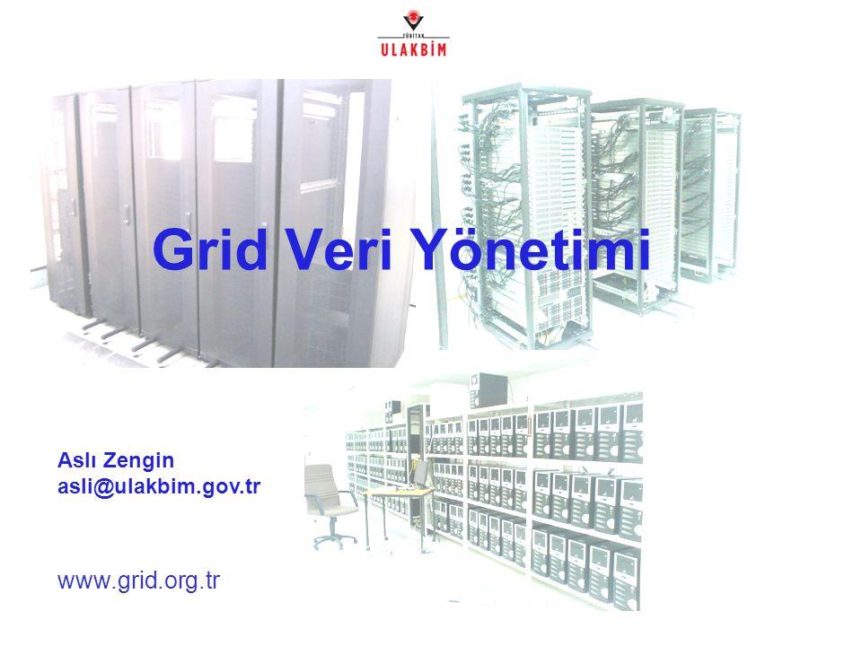 www.grid.org.tr Grid Veri Yönetimi Aslı Zengin asli@ulakbim.gov.tr