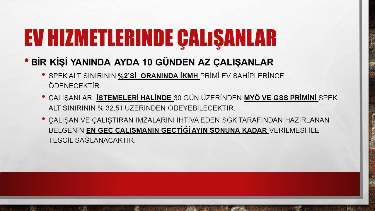 YAPILANDIRMA İŞLEMLERİ