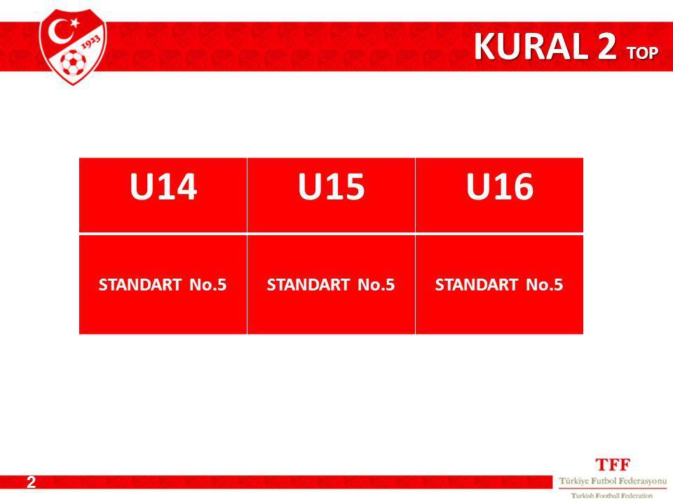 KURAL 2 TOP 2 U14U15U16 STANDART No.5