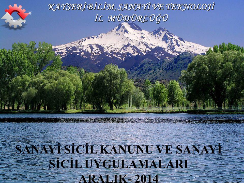 T.C.KAYSERİ VALİLİĞİ Bilim, Sanayi ve Teknoloji İl Müdürlüğü 1T.C.
