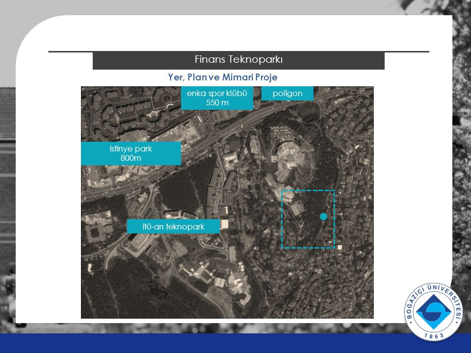 2014 ÖSYS Sonuçları Finans Teknoparkı Yer, Plan ve Mimari Proje istinye park 800m enka spor klübü 550 m poligon itü-arı teknopark v v