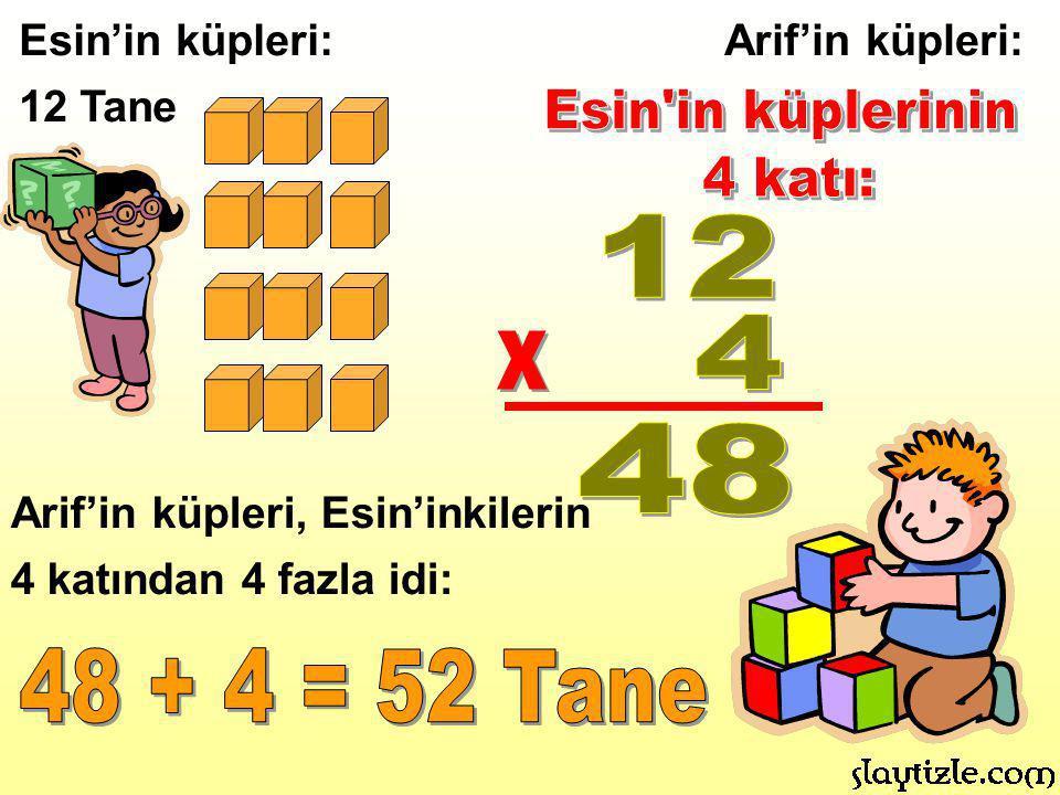 Tarık 11 yaşında.Babasının yaşı Tarık'ın yaşının 3 katından 4 fazla.