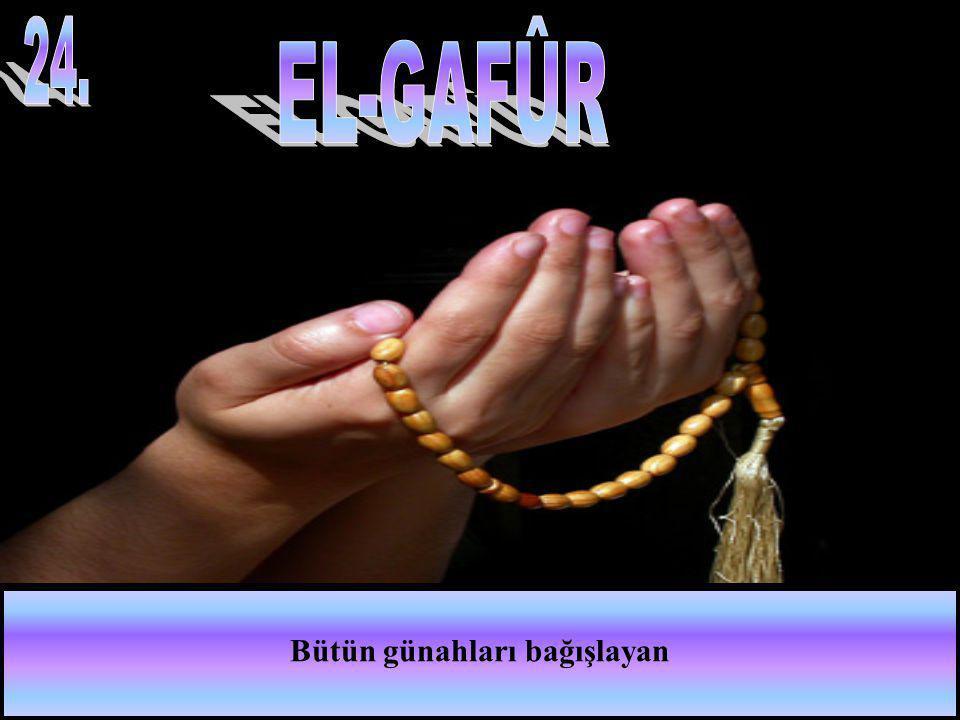 Bütün günahları bağışlayan