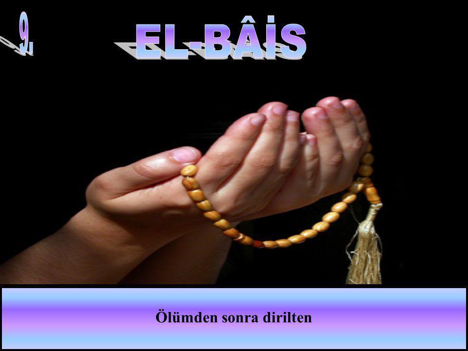 Bedenlerin ve ruhların gıdasını yaratıp veren,bilip gücü yeten ve koruyan