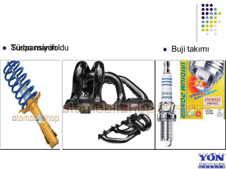 Buji takımı Süspansiyon Turbo manifoldu