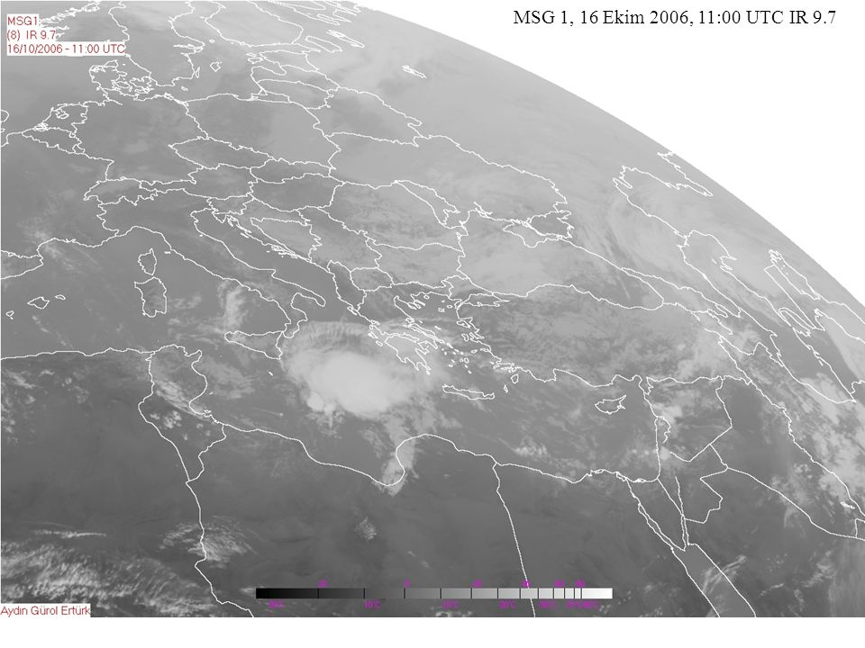 MSG 1, 16 Ekim 2006, 11:00 UTC IR 9.7