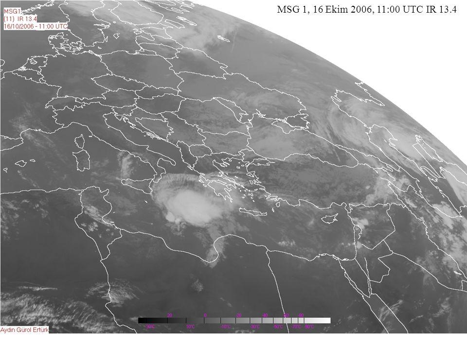MSG 1, 16 Ekim 2006, 11:00 UTC IR 13.4
