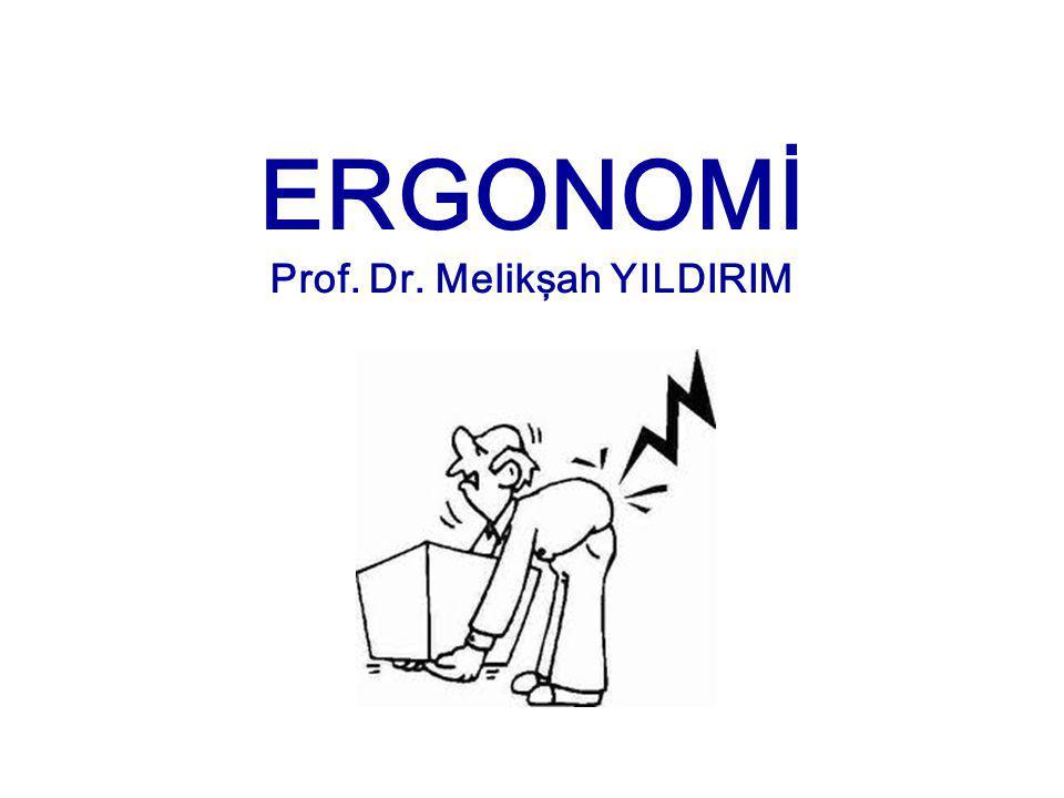 İnsanın ergonomik önem taşıyan organları - Sinir Sistemi - Kan dolaşımı - Kas sistemi - Duyu Organları - görme duyusu - işitme duyusu - dokunma duyusu - kas ve kiriş duyusu - sıcaklık duyusu - ağrı duyusu