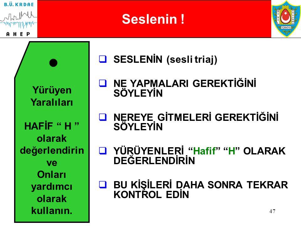 46 Basit Sınıflandırma ve Hızlı Müdahale BSHM BSHM FİLMİ İÇİN TIKLAYINIZ!