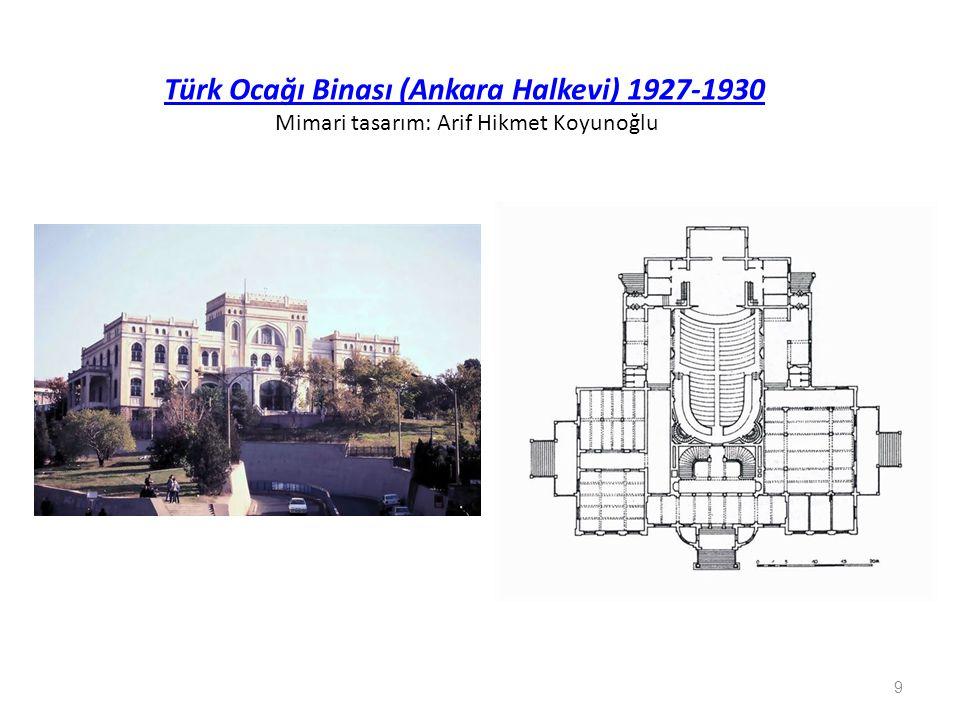 Saraçoğlu Mahallesi (1945-46) Tasarım: Paul Bonatz 30