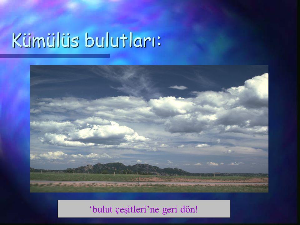 Kümülüs bulutları: 'bulut çeşitleri'ne geri dön!