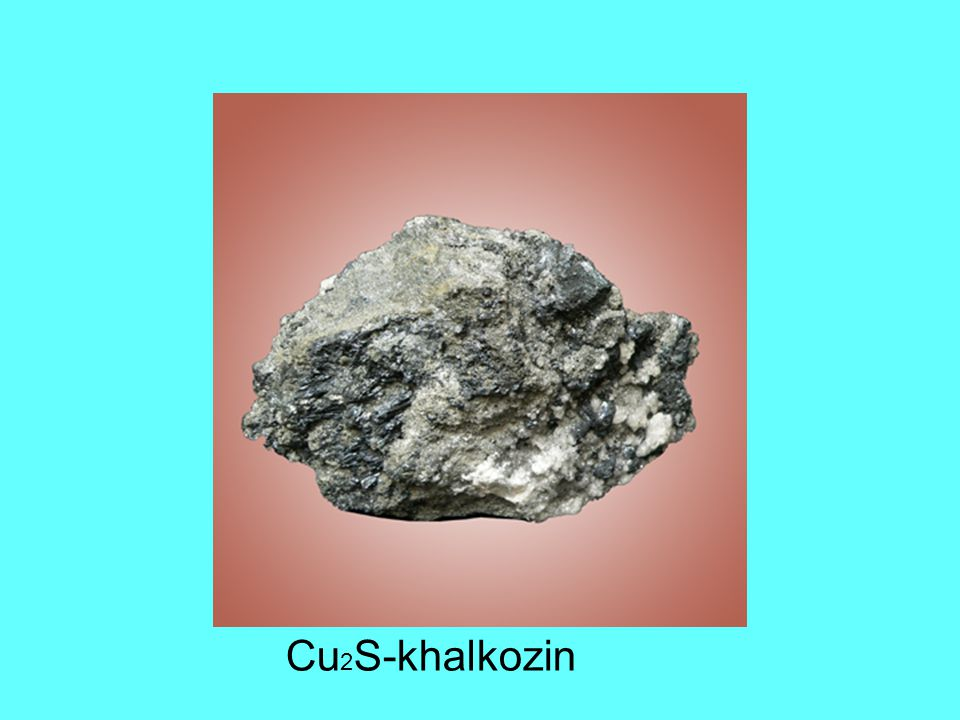 Cu 2 S-khalkozin