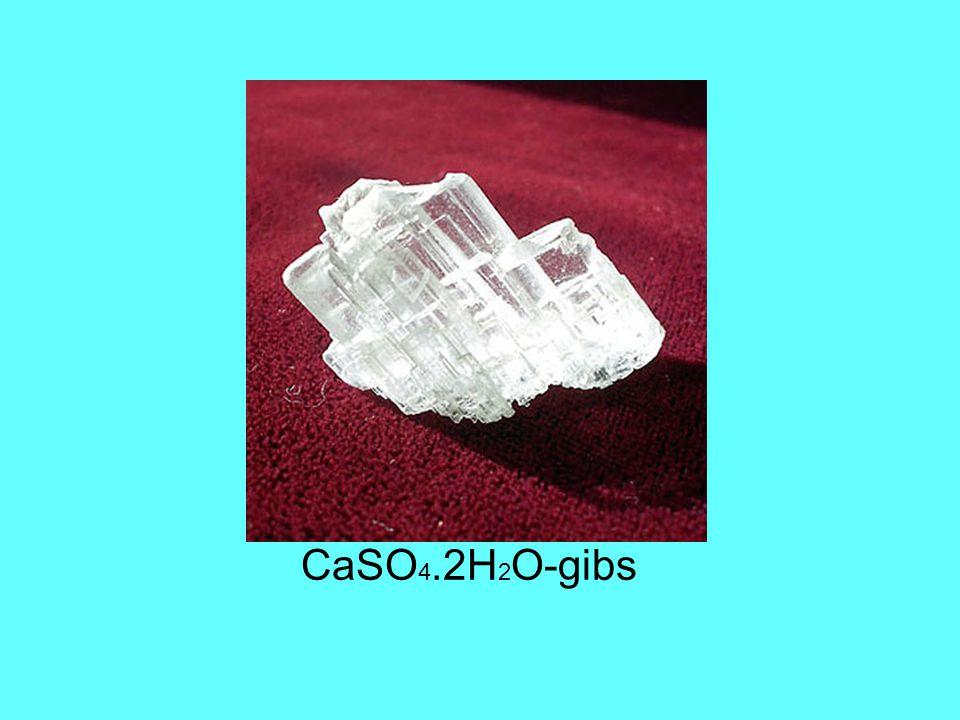 CaSO 4.2H 2 O-gibs