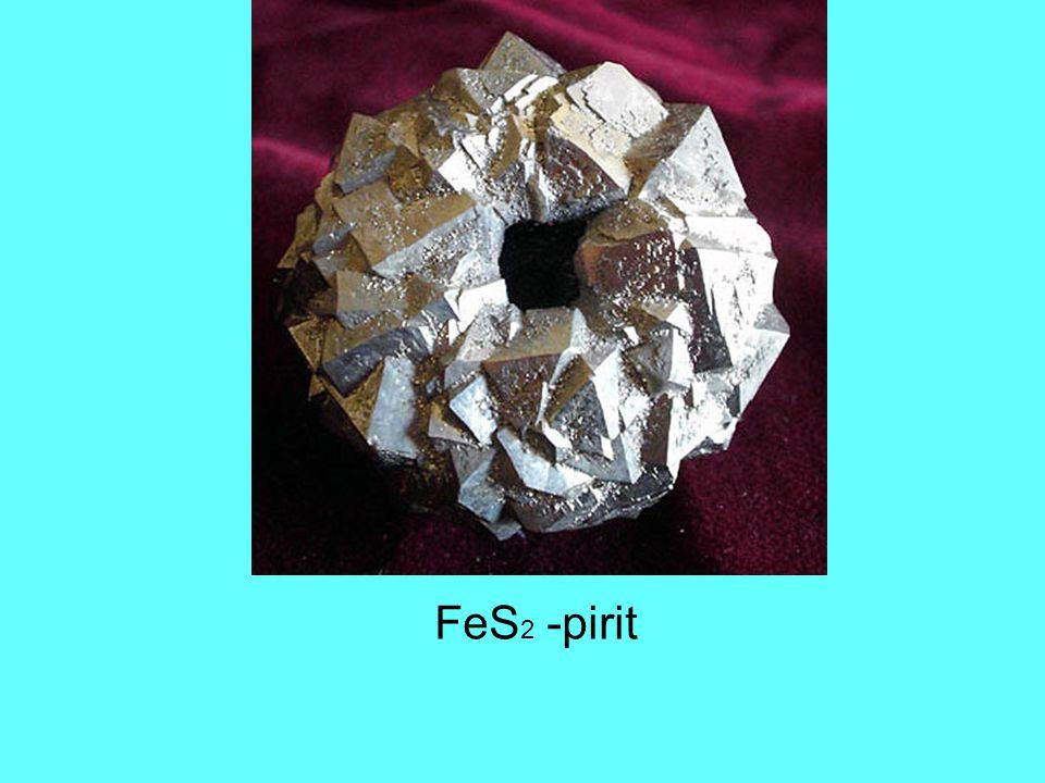 FeS 2 -pirit