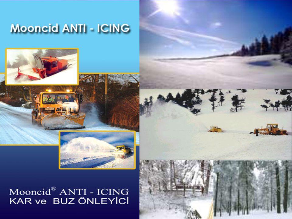 Mooncid ANTI – ICING İÇERİK Kar ile Mücadele Yöntemleri.
