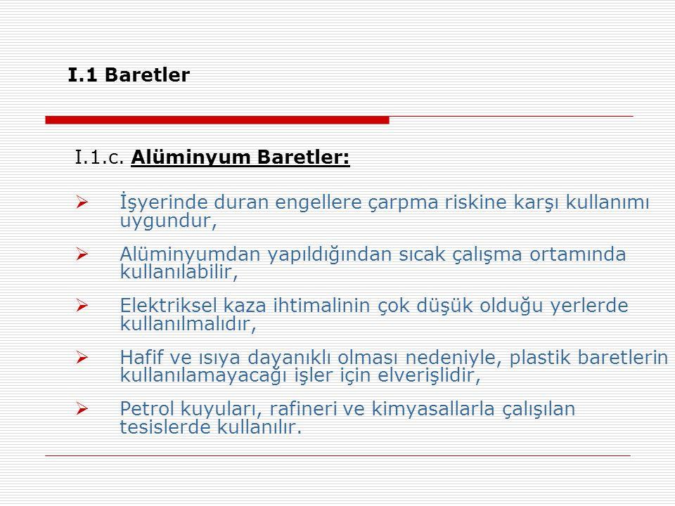 I.1 Baretler I.1.c.
