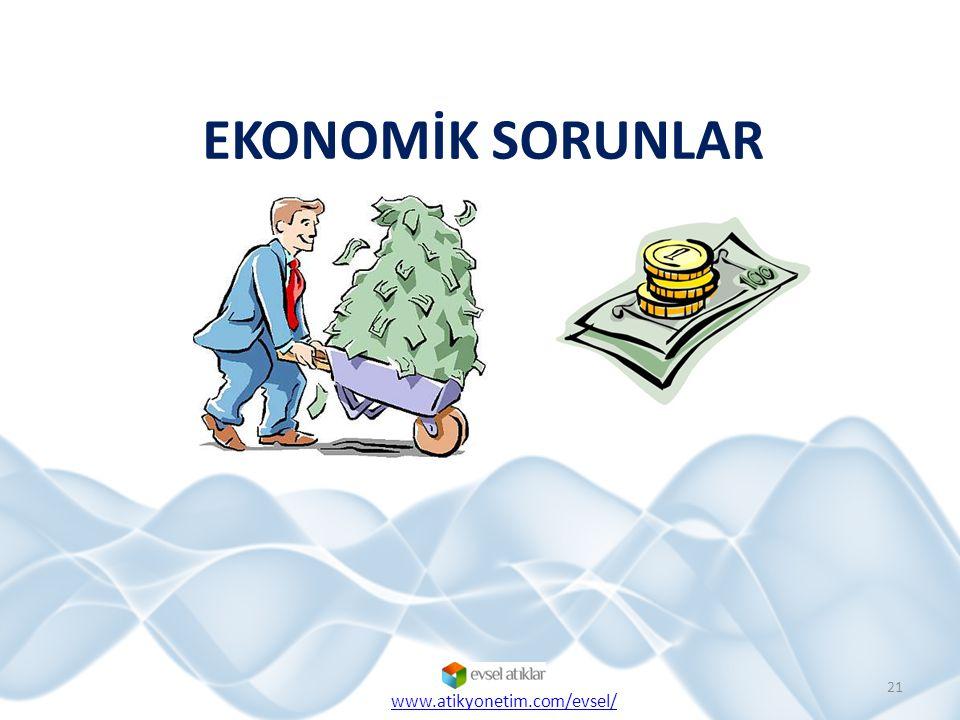 EKONOMİK SORUNLAR 21 www.atikyonetim.com/evsel/