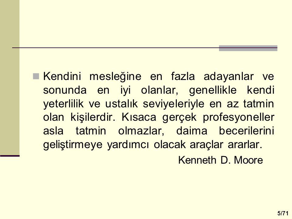 Değişen şartlara aynı tepkileri vererek yaşayamayız. Prof.Dr.Erol Güngör 6/71