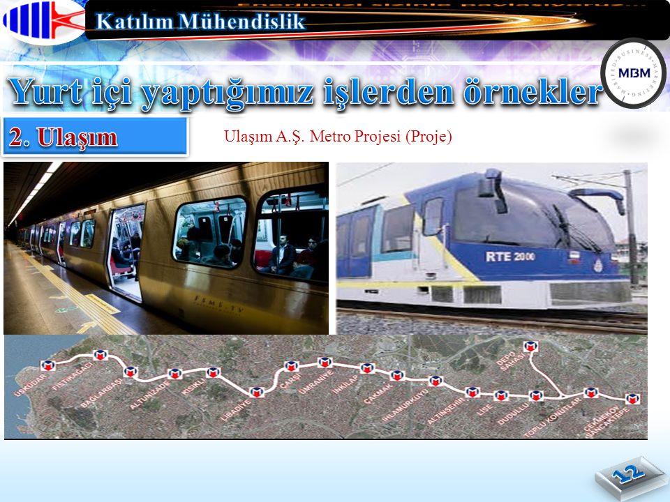 Ulaşım A.Ş. Metro Projesi (Proje)