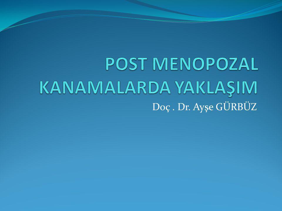 Doç. Dr. Ayşe GÜRBÜZ