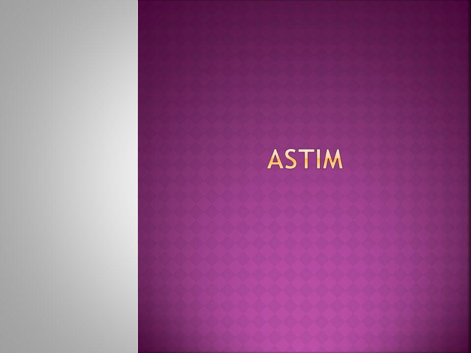  Astım bronş dediğimiz akciğer içi hava yollarının müzmin iltihabi bir hastalığıdır.