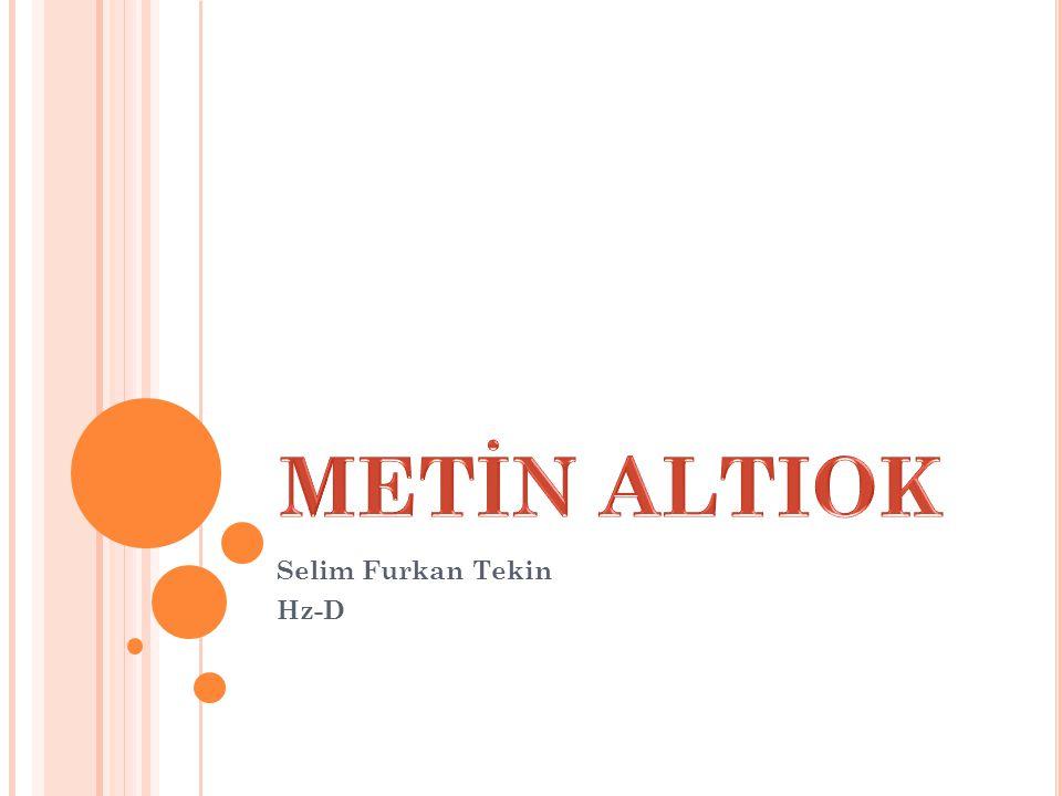 HAYATI İzmir de doğdu.DTCF Felsefe Bölümü mezunudur.