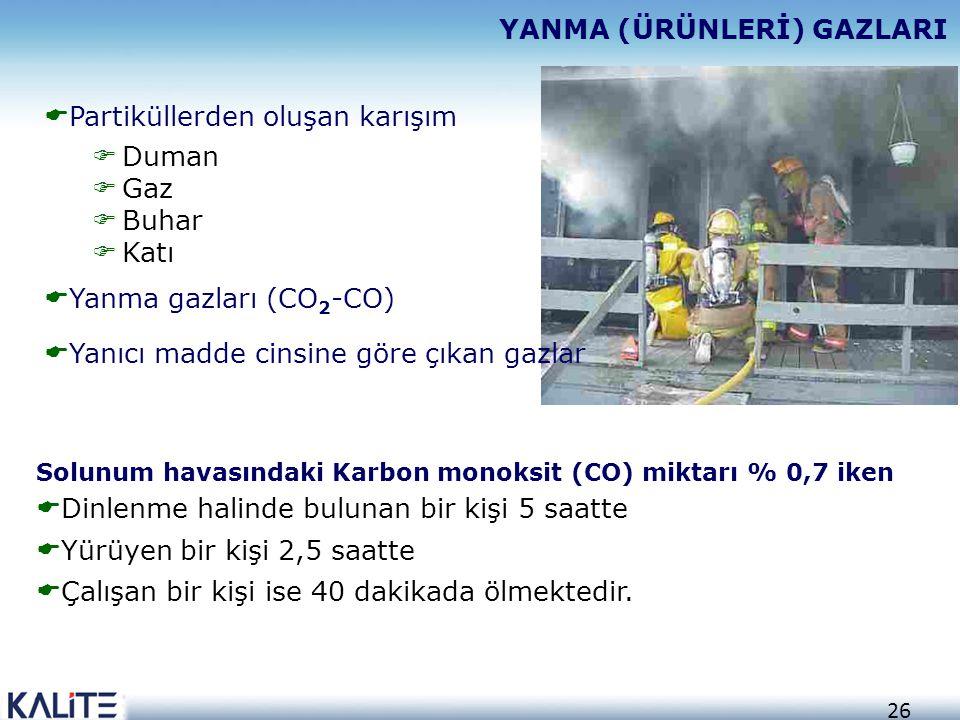 25 AÇIK ALAN YANGINLARI  Yanma olayının gerçekleştiği yerin  Hiçbir engelle sınırlanmadığı  Doğrudan atmosfere açık olarak gerçekleşen yangınlardır