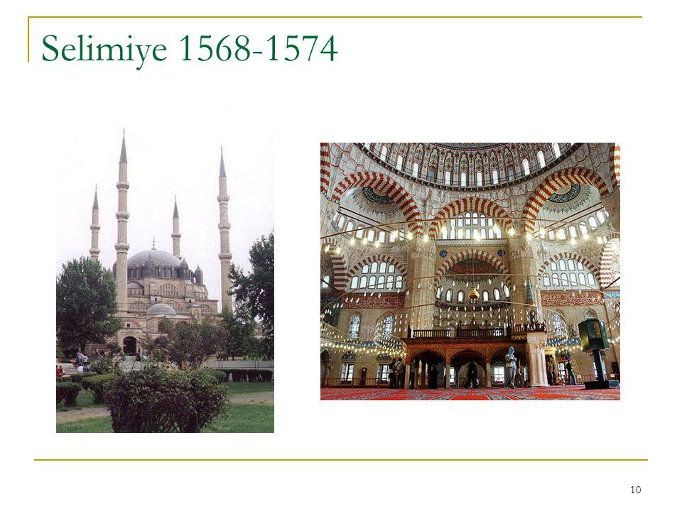 10 Selimiye 1568-1574