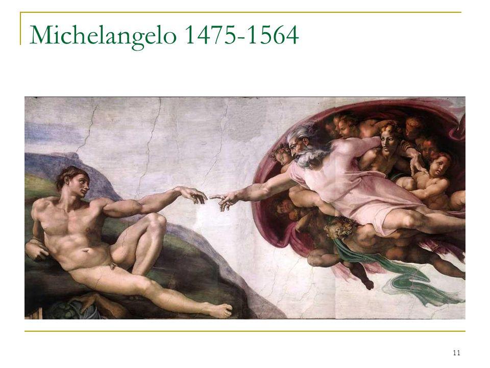 11 Michelangelo 1475-1564