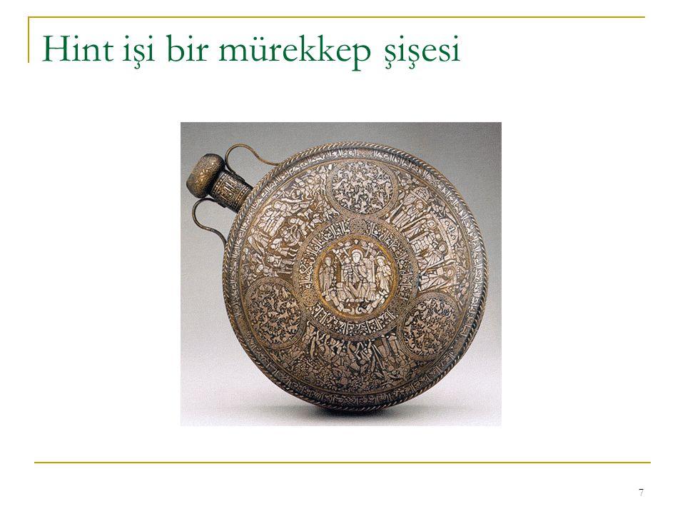 8 17. Yüzyıldan bir hat örneği (Osmanlı)