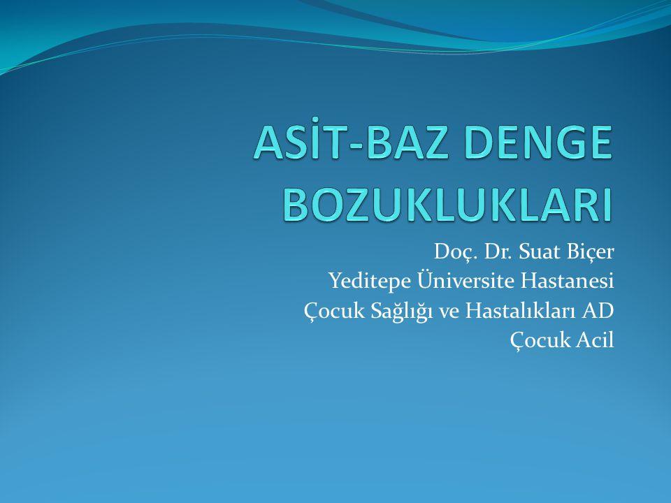 Doç. Dr. Suat Biçer Yeditepe Üniversite Hastanesi Çocuk Sağlığı ve Hastalıkları AD Çocuk Acil
