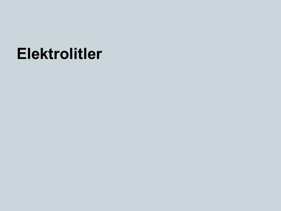 Elektrolitler