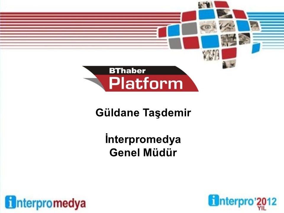 Güldane Taşdemir İnterpromedya Genel Müdür